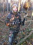 David Tolson on a deer hunt in Maryland