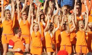 Dutch Fans - Courtesy of the Guardian