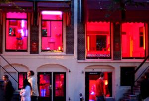A typical Red-Light District Scene