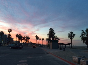 Santa Monica sunrise on an early morning run